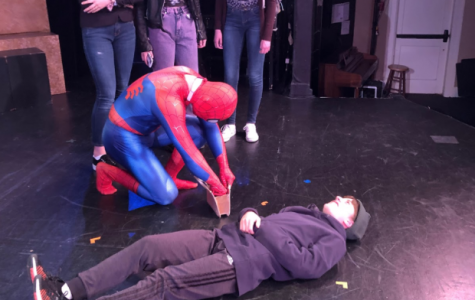 Advanced Acting tackles hard topics in Marvel-based one-acts