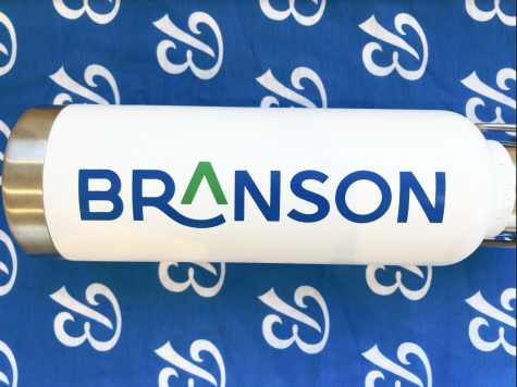 Branson unveils its new school/athletics logo and rebranding initiative